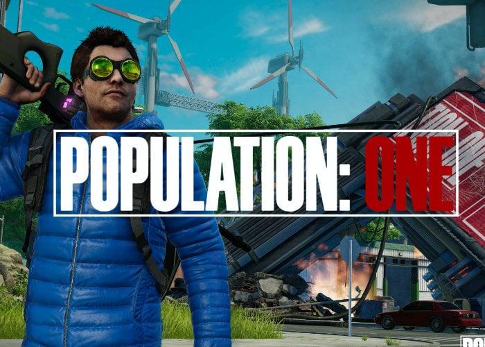 Population One VR Battle Royale game