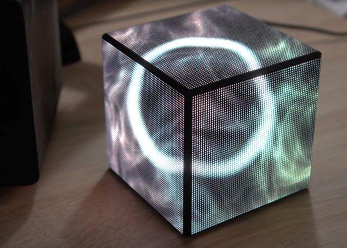 Raspberry Pi CPU status cube