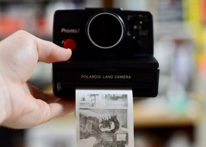 Raspberry Pi Polaroid camera
