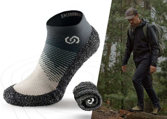 Skinners 2.0 ultra portable footwear combines the comfort of socks with the protection of shoes - Geeky Gadgets