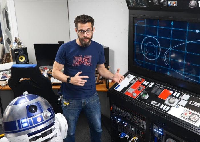 Star Wars inspired media centre