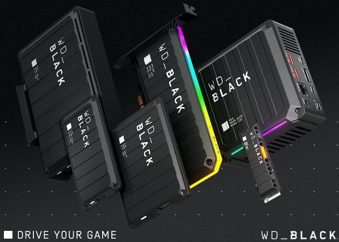 WD_Black gaming storage
