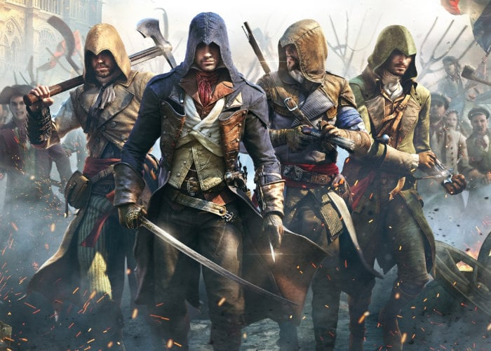 Xbox Series X Assassin's Creed Unity