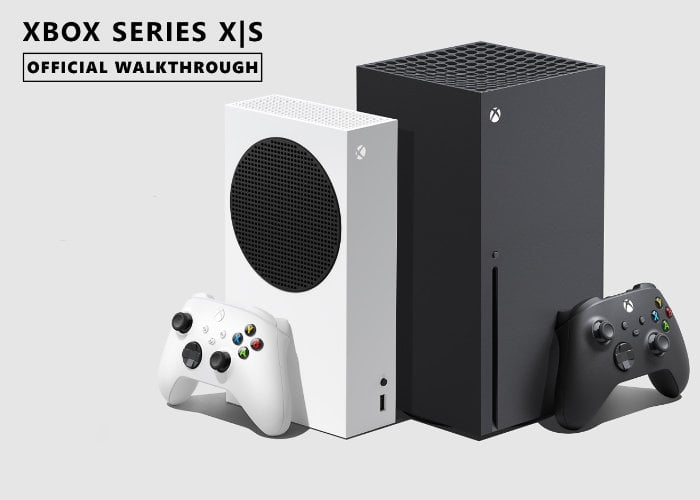 Xbox Series X official walkthrough