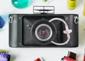 liquid filled camera lens
