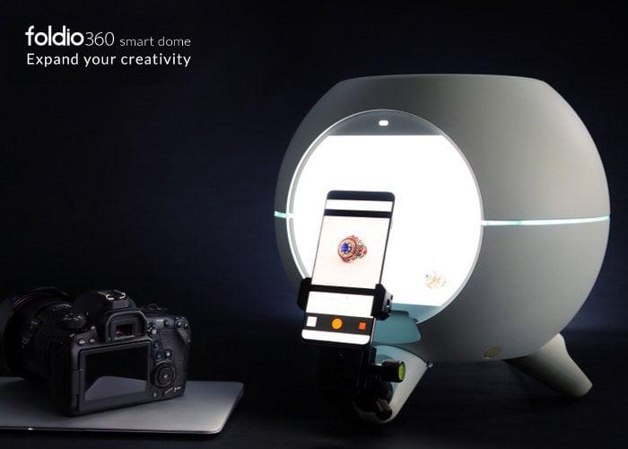desktop photography studio