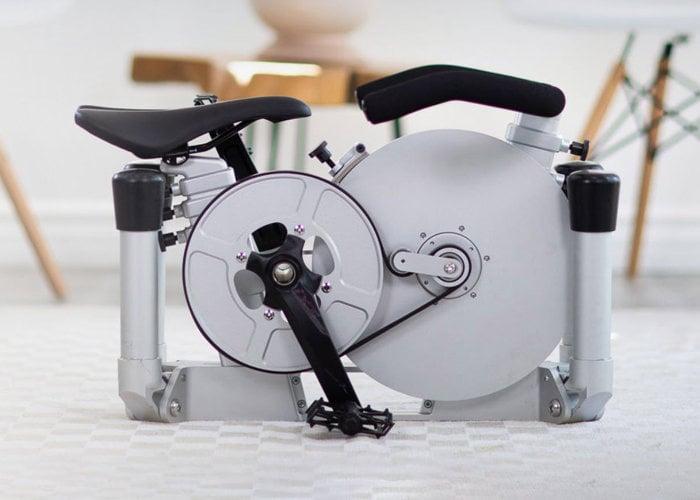 folding excercise bike
