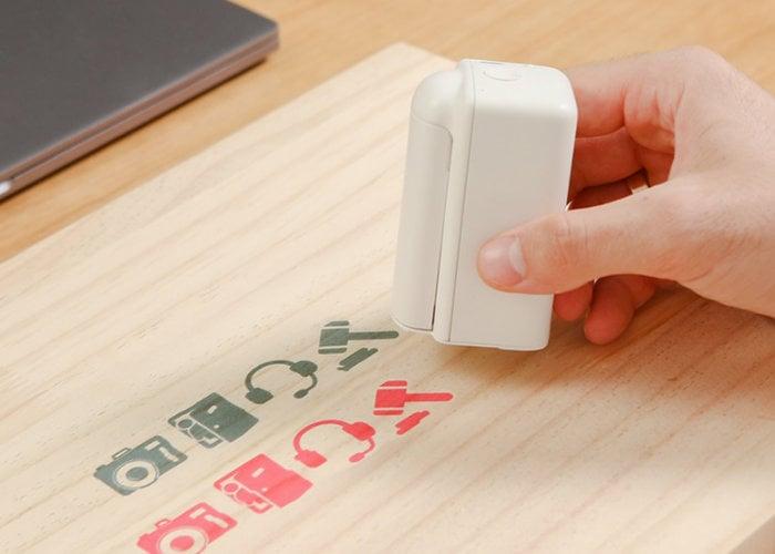 PrintPod pocket handheld printer prints on any surface - Geeky Gadgets