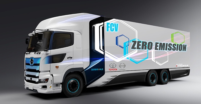 heavy duty fuel cell trucks