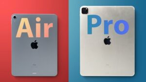 iPad Air vs iPad Pro