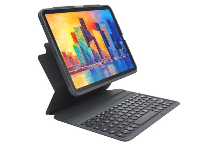 ZAGG Pro Keys wireless iPad keyboard case and stand - Geeky Gadgets
