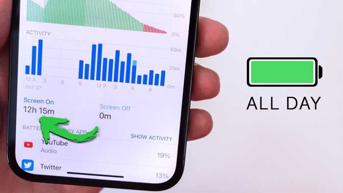 iPhone 12 and 12 Pro battery life