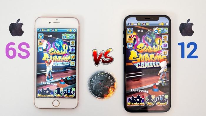 iPhone 12 vs iPhone 6S
