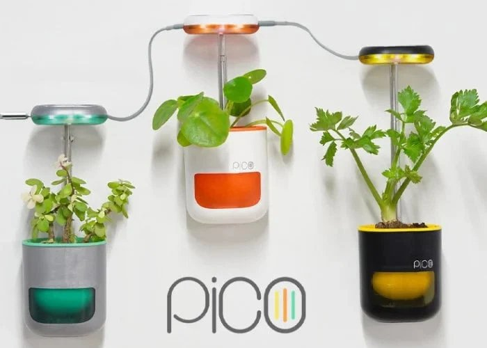 Pico indoor garden now available on Indiegogo - Geeky Gadgets