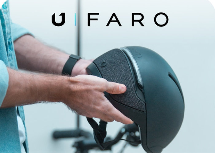 FARO smart bike helmet features fall detection, lights, signalling system and more - Geeky Gadgets