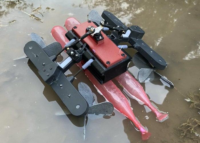 Amphibious robot