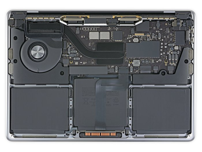 New Apple M1 MacBook Pro taken apart by iFixit - Geeky Gadgets