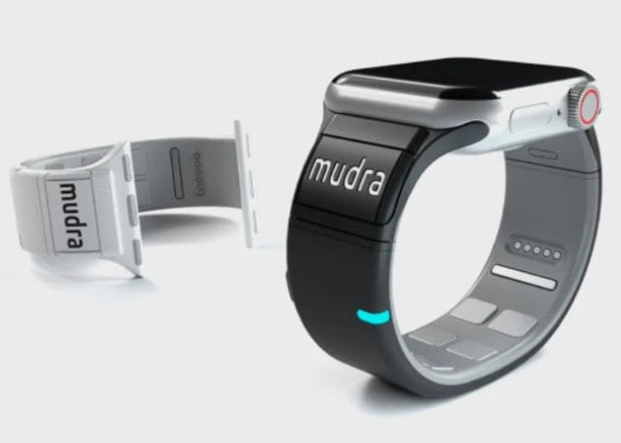 Mudra Apple Watch Band adds gestures controls to your wrist - Geeky Gadgets