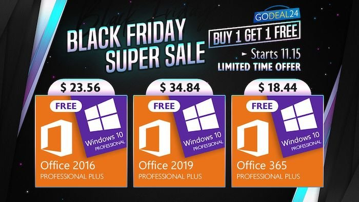Black Friday Super Sale – Get Windows 10 for free - Geeky Gadgets
