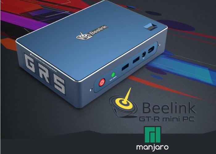 Beelink GT-R Manjaro Linux AMD Ryzen mini PC