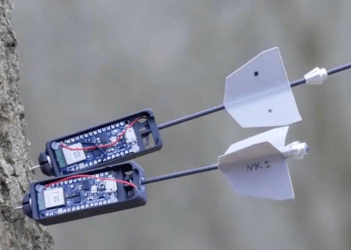 Drone fires Sense darts