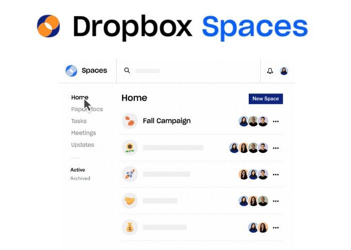Dropbox Spaces