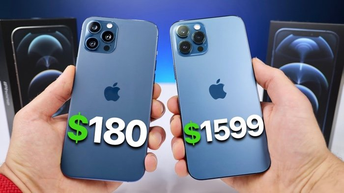 Fake iPhone 12 Pro Max vs real iPhone 12 Pro Max (Video) - Geeky Gadgets