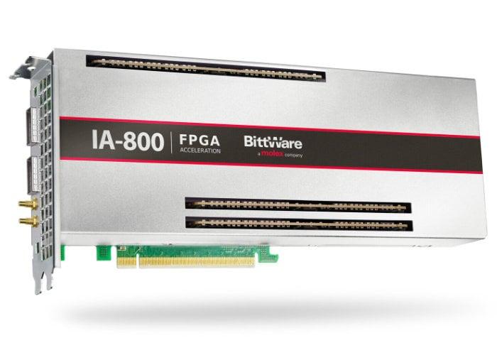 Intel Agilex FPGA card