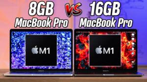 M1 MacBook Pro 8GB vs 16GB