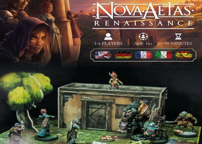 Nova Aetas Renaissance board game