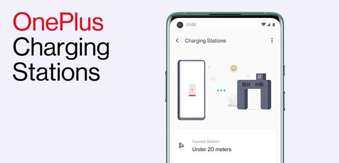 OnePlus Charging Stations