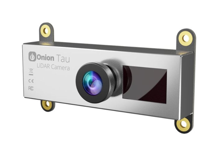 Onion Tau LiDAR Camera is a webcam for real-time 3D depth data - Geeky Gadgets