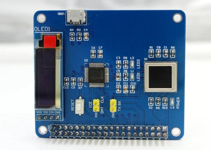 PiFinger Raspberry Pi fingerprint HAT