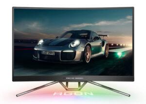 Porsche gaming monitor