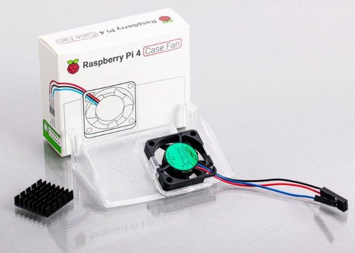 Raspberry Pi 4 case fan