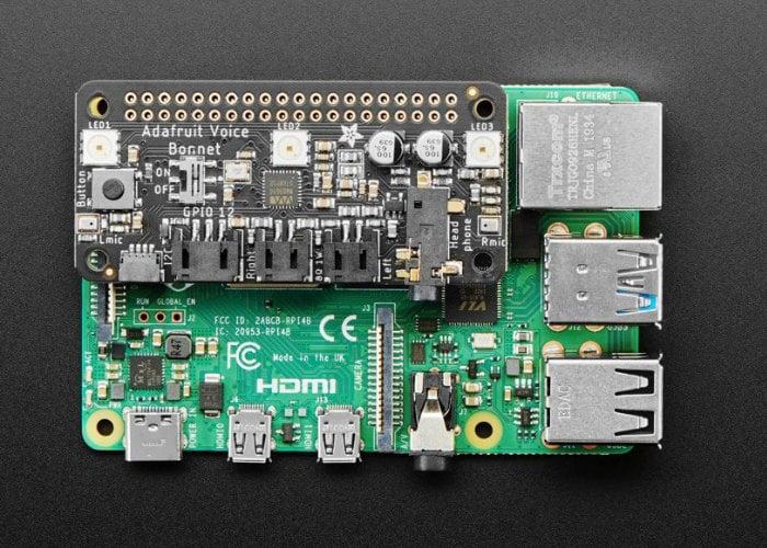 Raspberry Pi Voice Bonnet