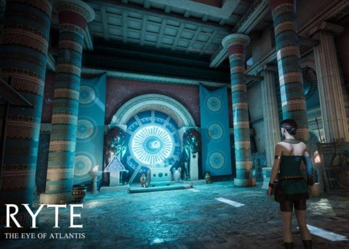 Ryte The Eye Of Atlantis VR adventure