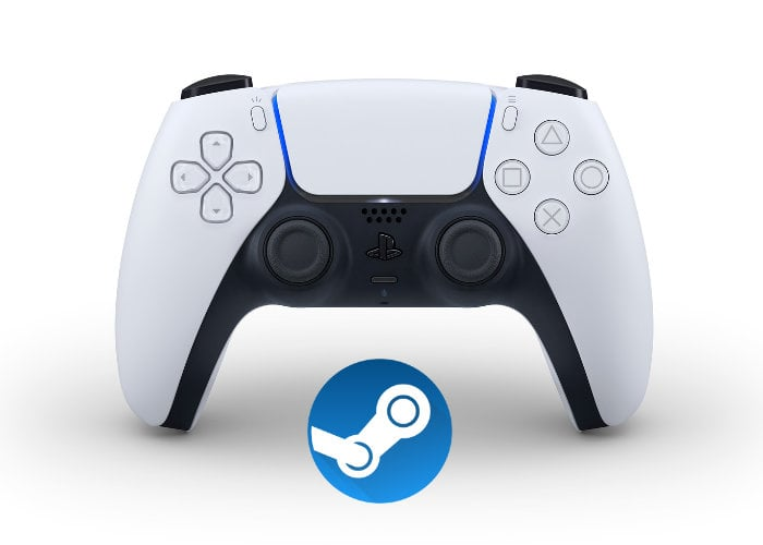 Steam PS5 controller