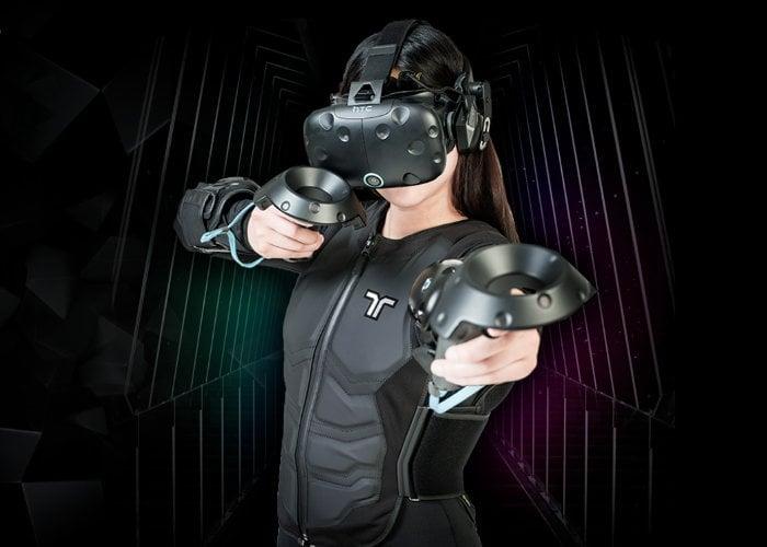 VR haptic vest