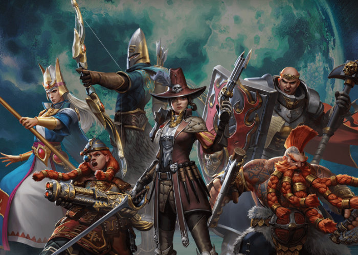 Warhammer Odyssey mobile MMORPG