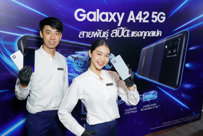 Samsung Galaxy A42 5G launched in Thailand 1