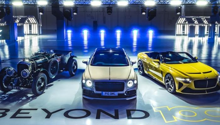 Bentley vehicles