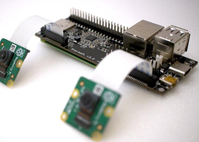 dual Raspberry Pi camera