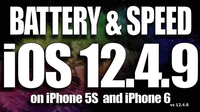 iOS 12.4.9