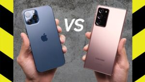 iPhone 12 Pro Max vs Galaxy Note 20 Ultra
