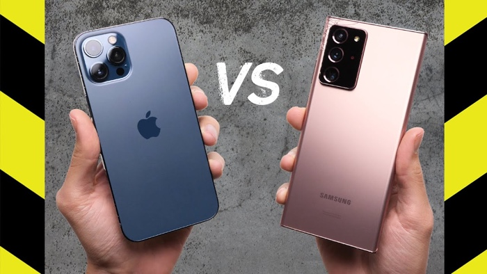 Drop Test: iPhone 12 Pro Max vs Galaxy Note 20 Ultra (Video) - Geeky Gadgets