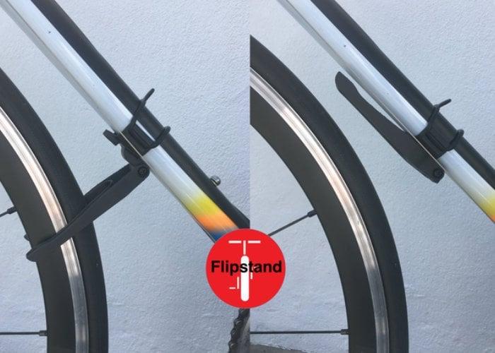 Flipstand unique lightweight bike stand - Geeky Gadgets
