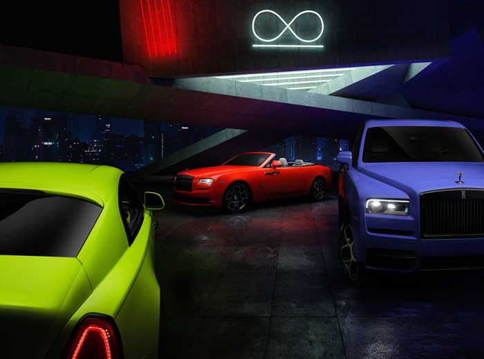 Extremely limited edition Rolls-Royce Neon Nights cars debut - Geeky Gadgets