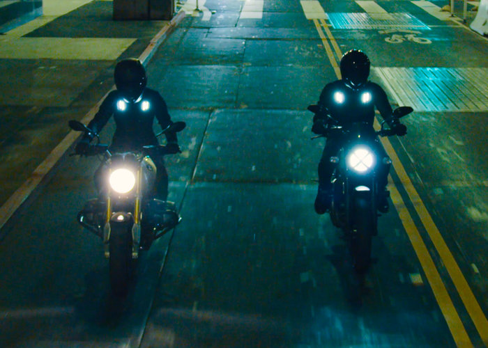 smart motorbike jacket