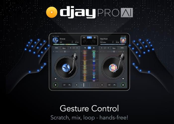 Apple iPad Djay Pro AI app